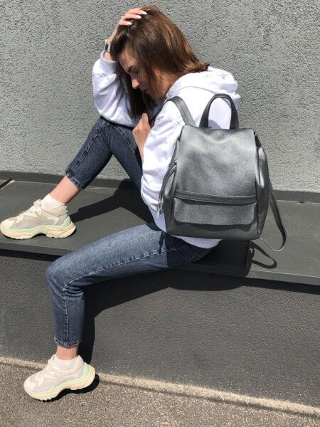 Рюкзак-кожаный-Light-С101-(платина)-9