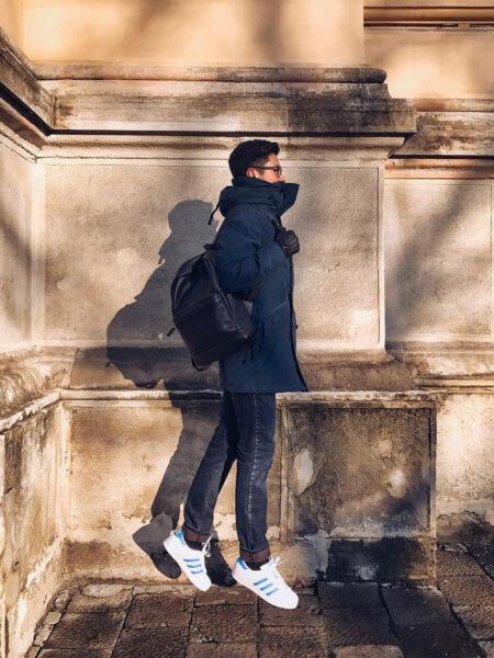 Мужской-кожаный-рюкзак-Corban-C044-(черный)