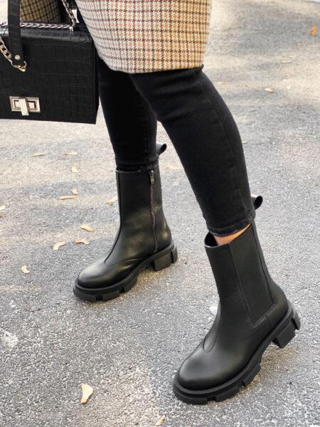 Кожаные-ботинки-Empire-BT113-(черные)-(4)