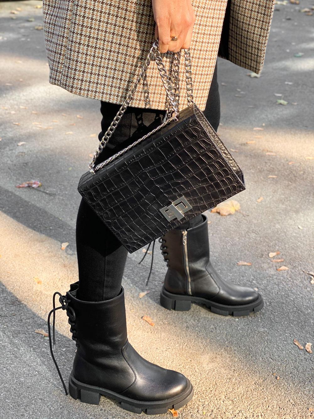 Женская-кожаная-сумка-Margo-С162-(черный-крокодил)-(8)