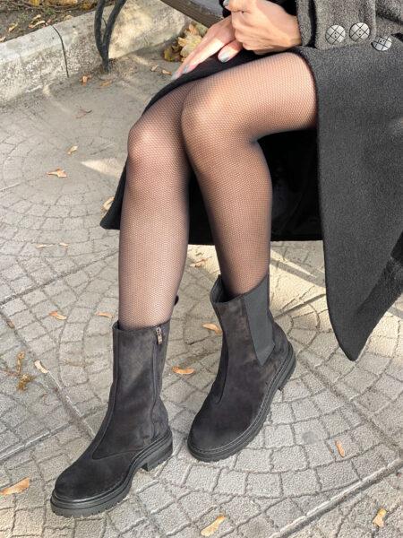 Замшевые-ботинки-Empire-BT113Z-(черные)-(4)
